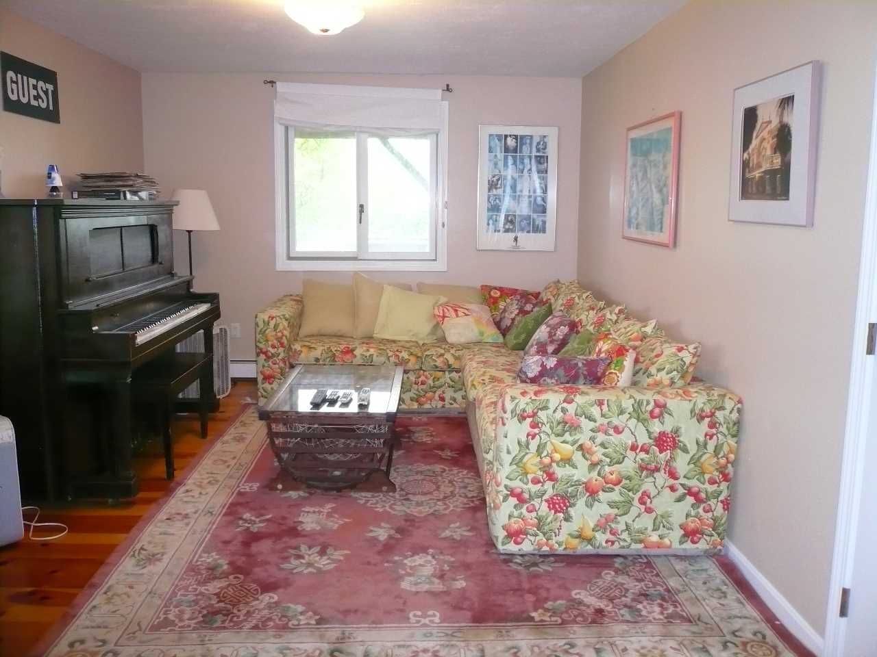 Piano Room/ Sitting Area