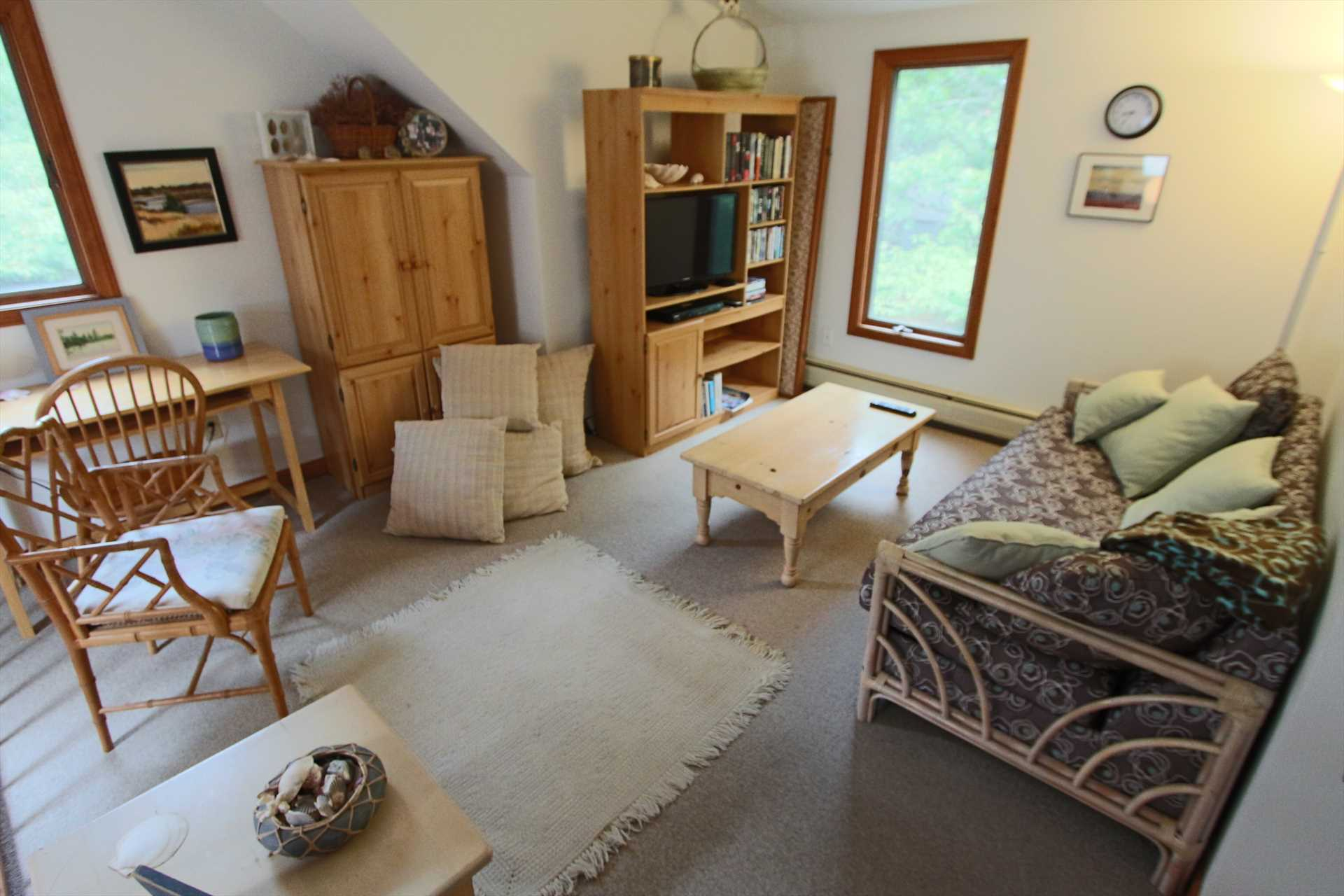 Sitting area upstairs
