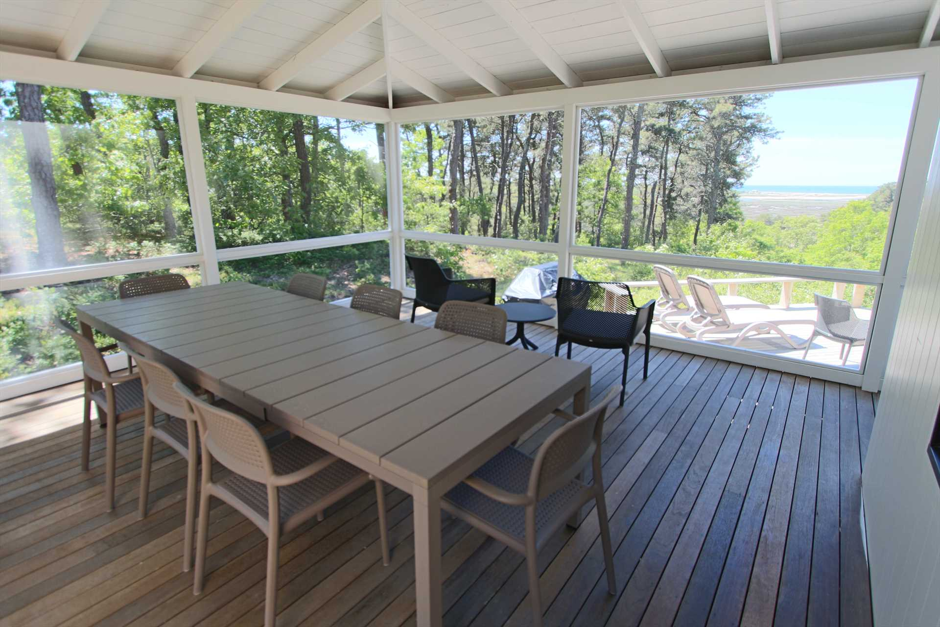 Large Screened in Porch with Beautiful Views