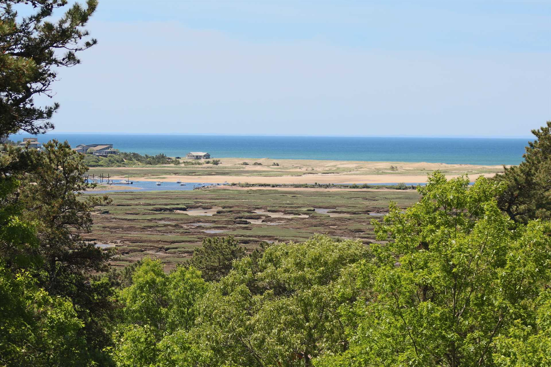 Views of Cape Cod Bay and Pamet River from Every Room!