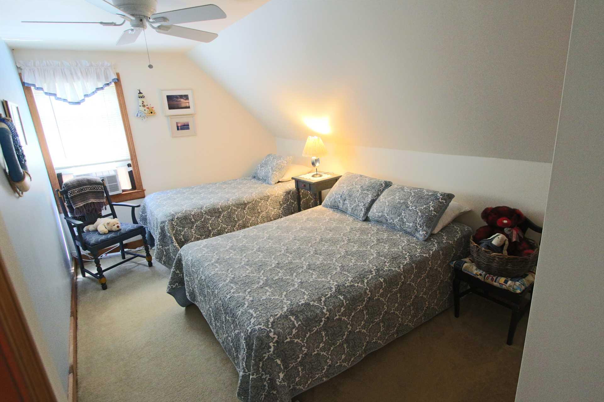 Bedroom #3-   1 Double & 1 Twin- 2nd Floor
