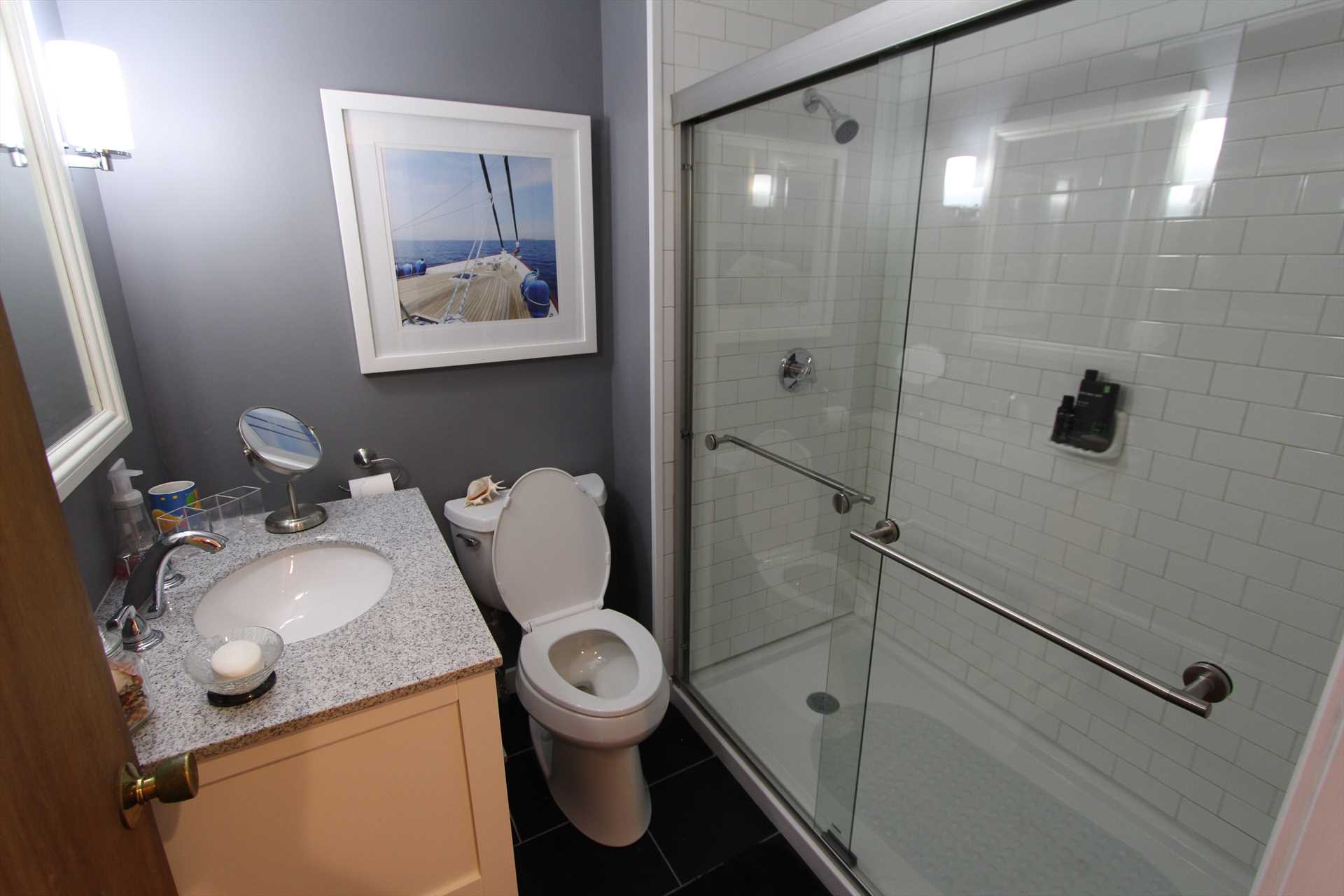 Bathroom on Main level - Shower only