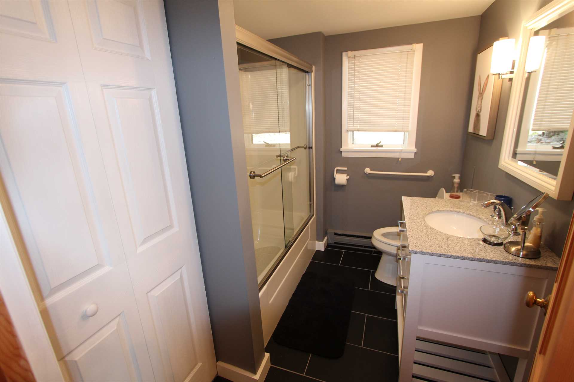 Bathroom Lower level with Tub & Shower