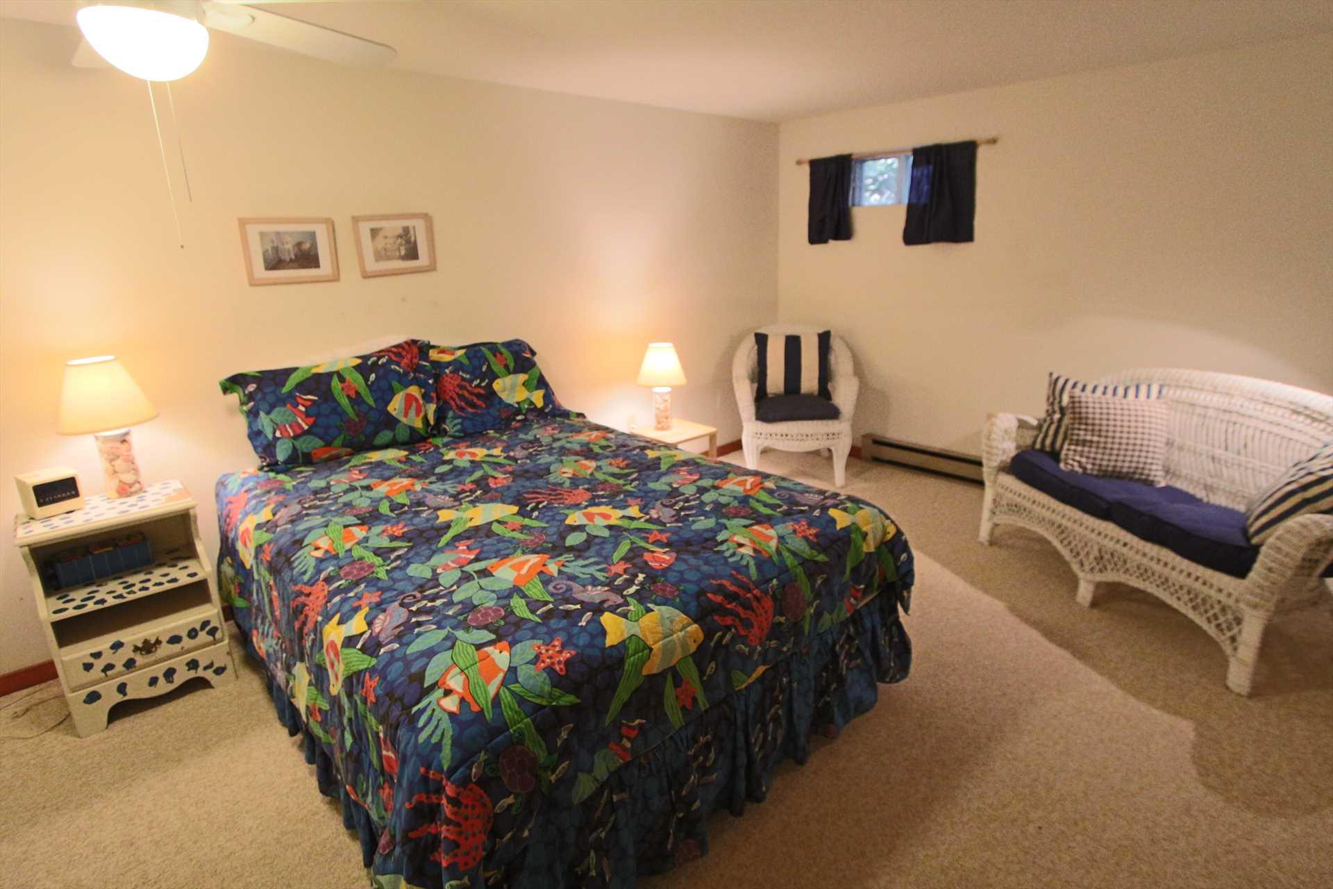 Bedroom #2-   1 Queen- Lower Level