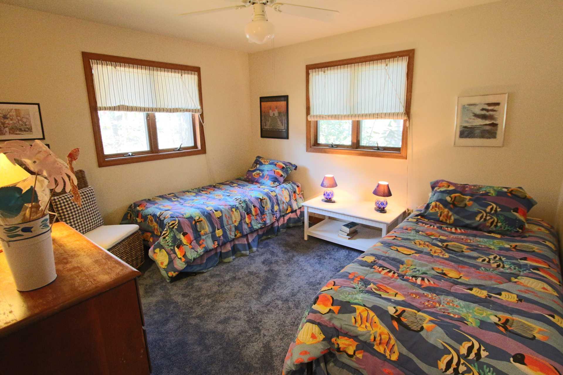 Bedroom #3-   2 Twin- 1st Floor