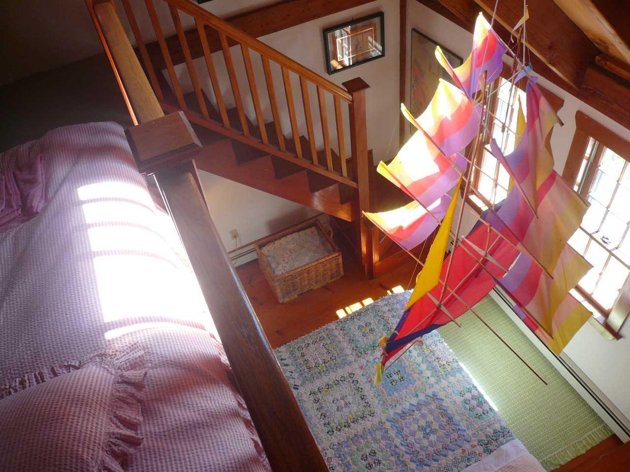 Loft stairs in Bedroom #3