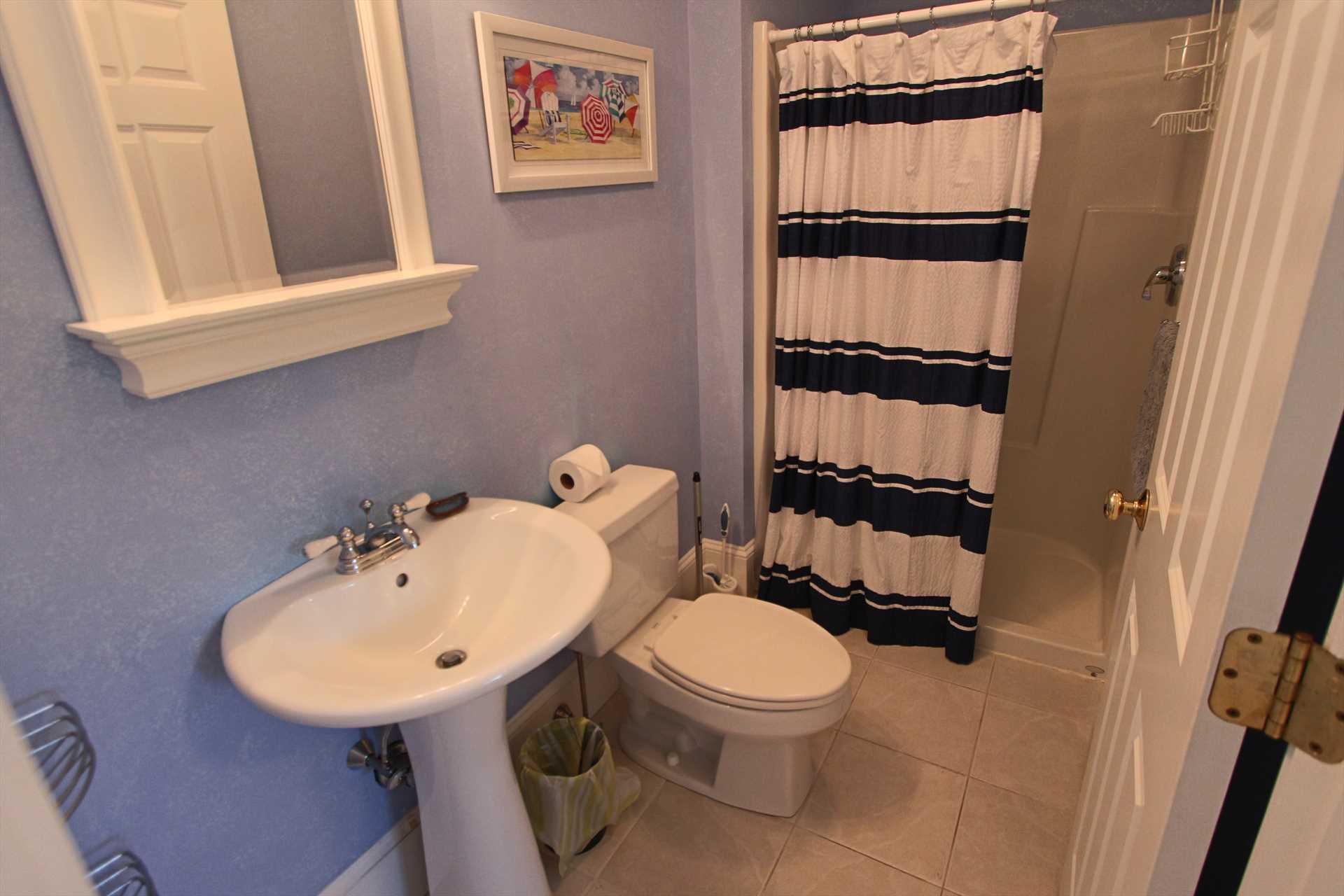 Bathroom #3 - In Bedroom #4 - w/shower - 2nd Floor