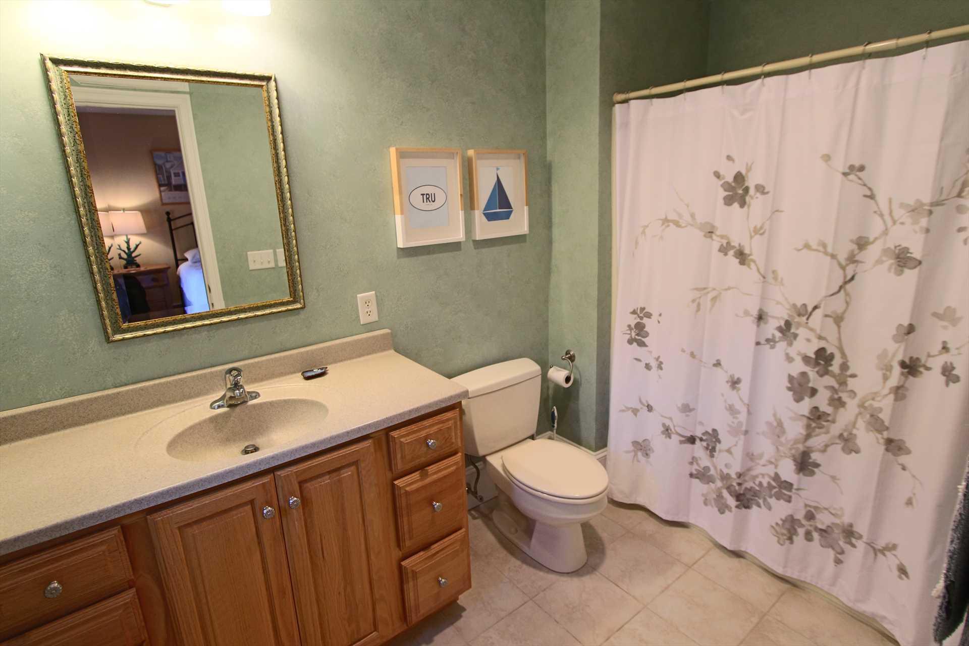 Bathroom #2 - In Bedroom #3 w/Tub&Shower - 2nd Floor