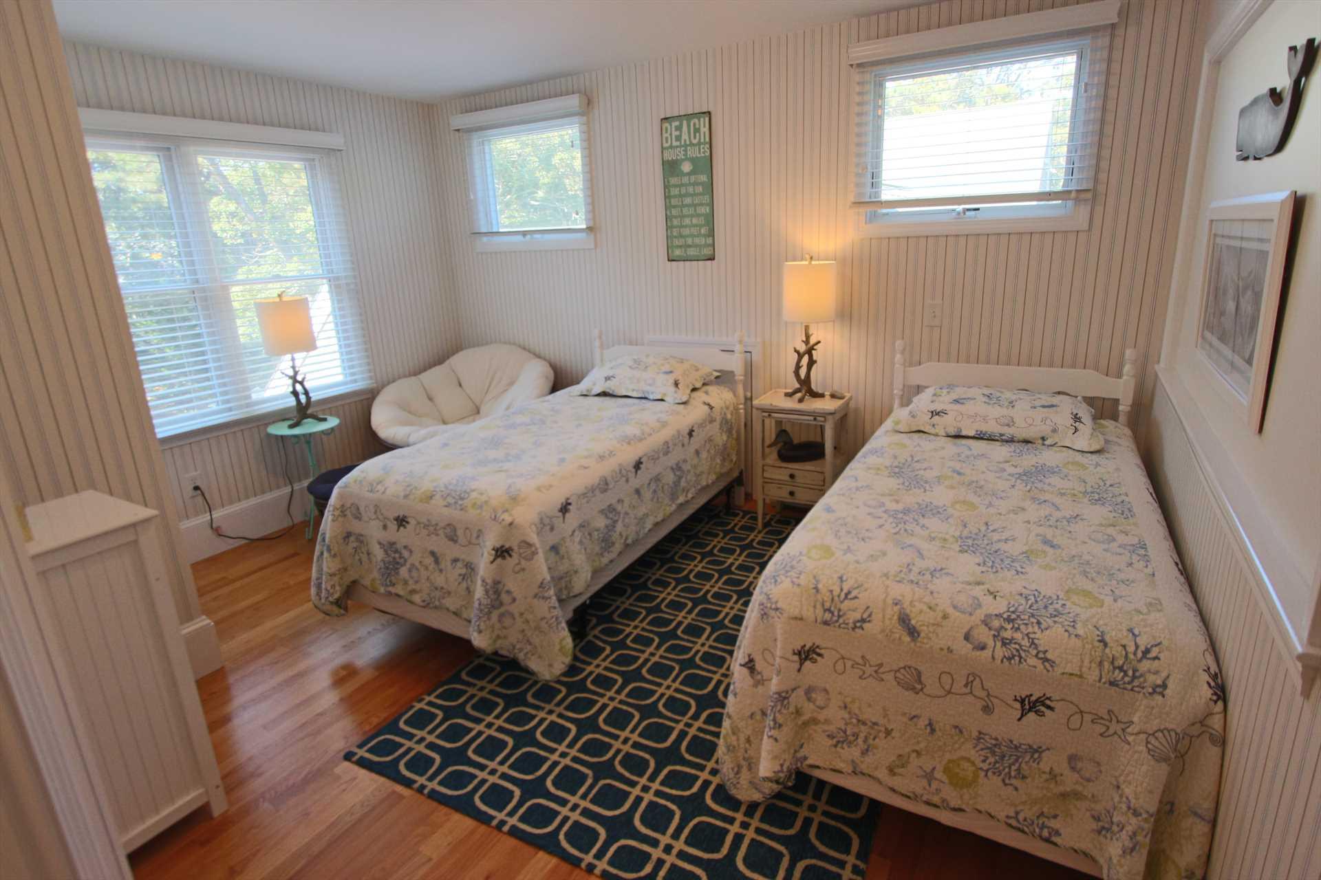 Bedroom #4-   2 Twin- 2nd Floor