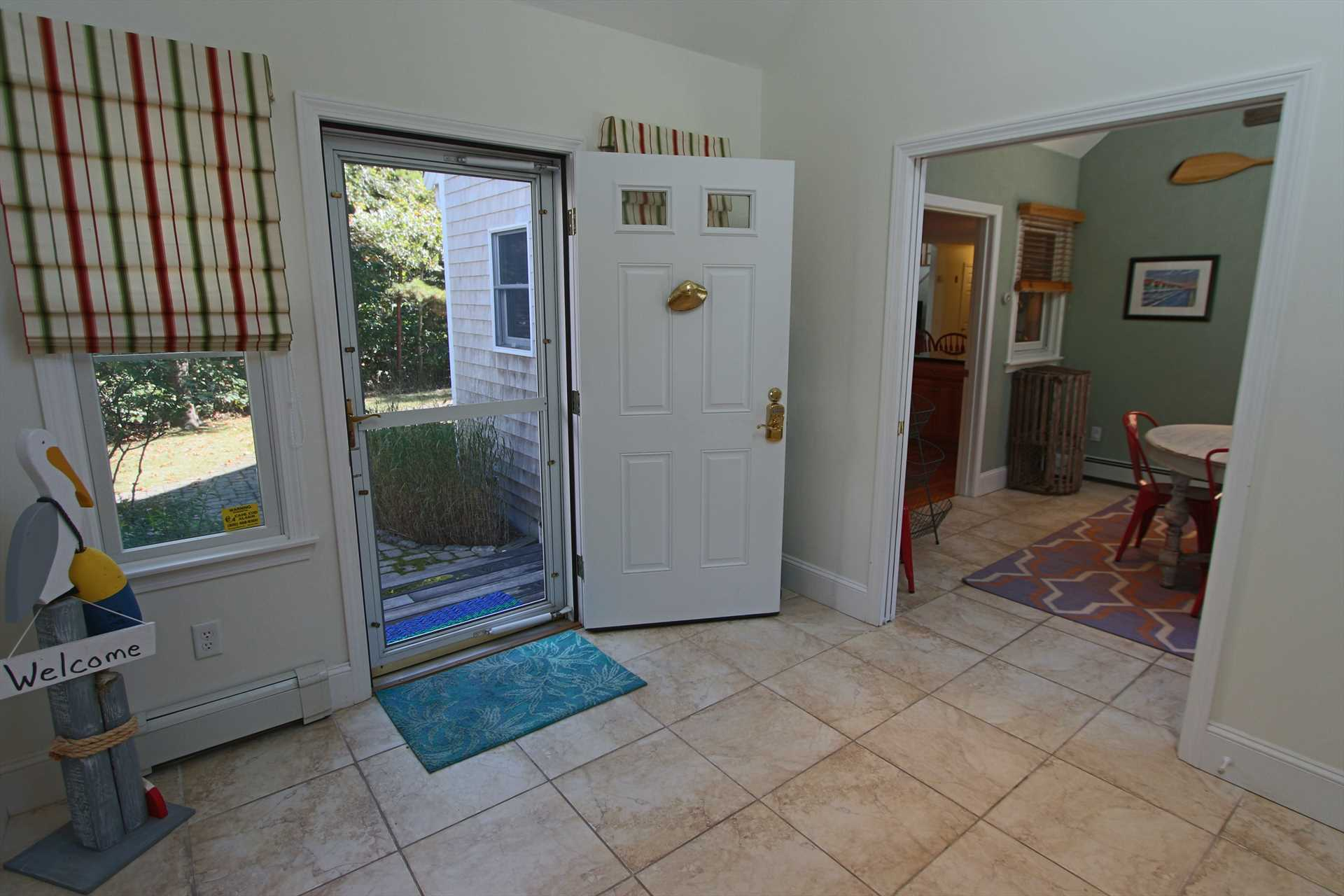 Foyer - Access to Garage and Breakfast Nook
