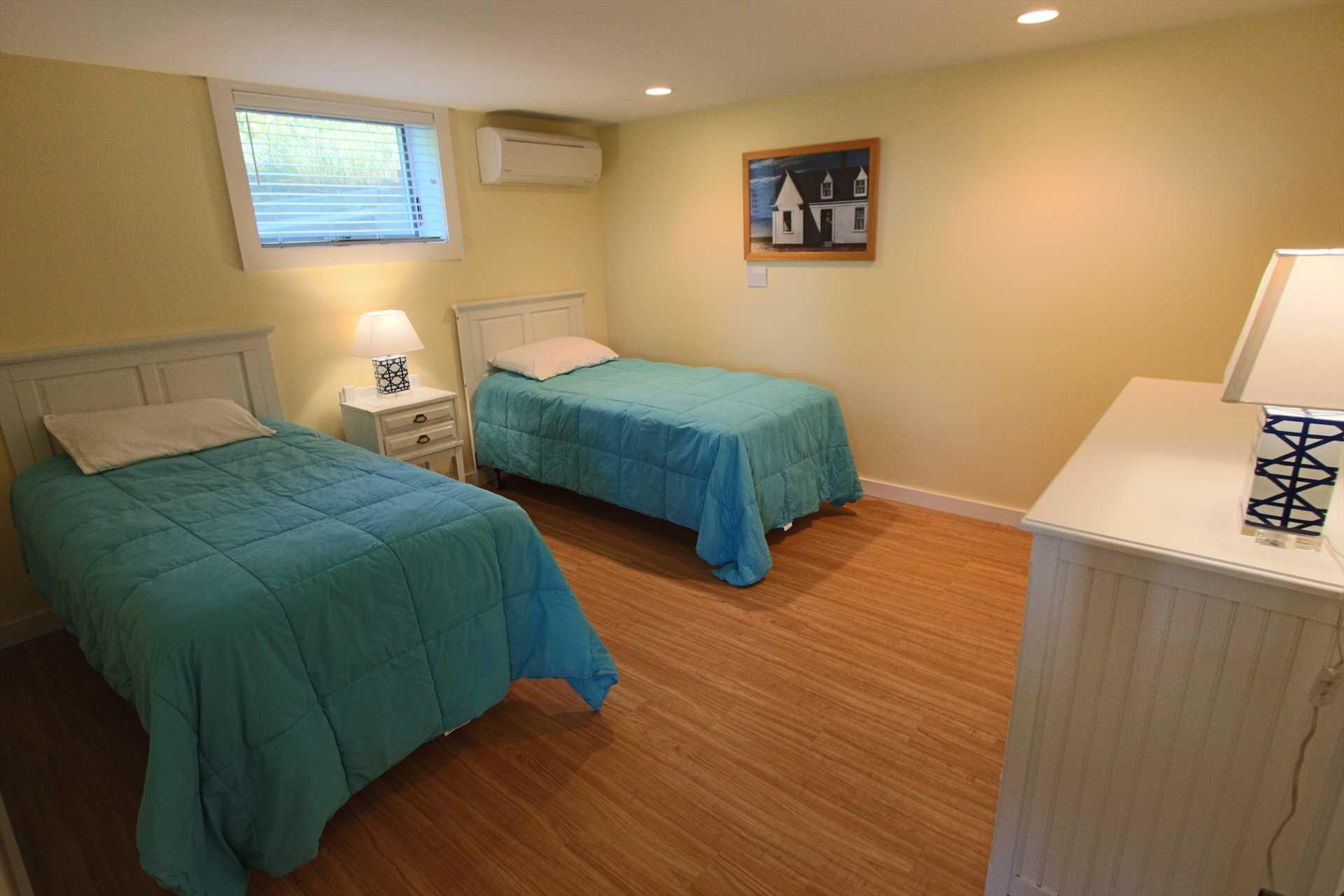 Bedroom #5-   2 Twin- Lower Level