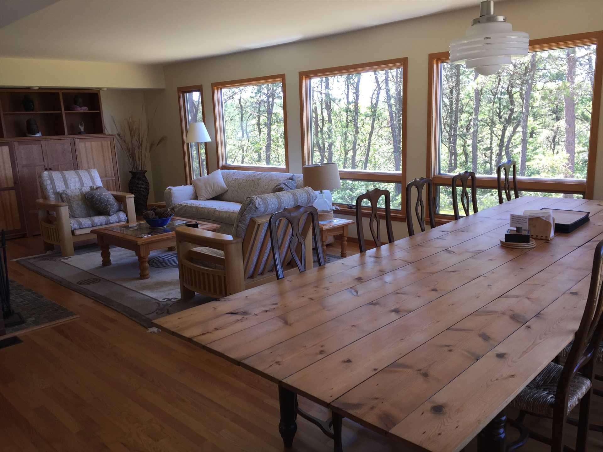Living Room- Dining Room