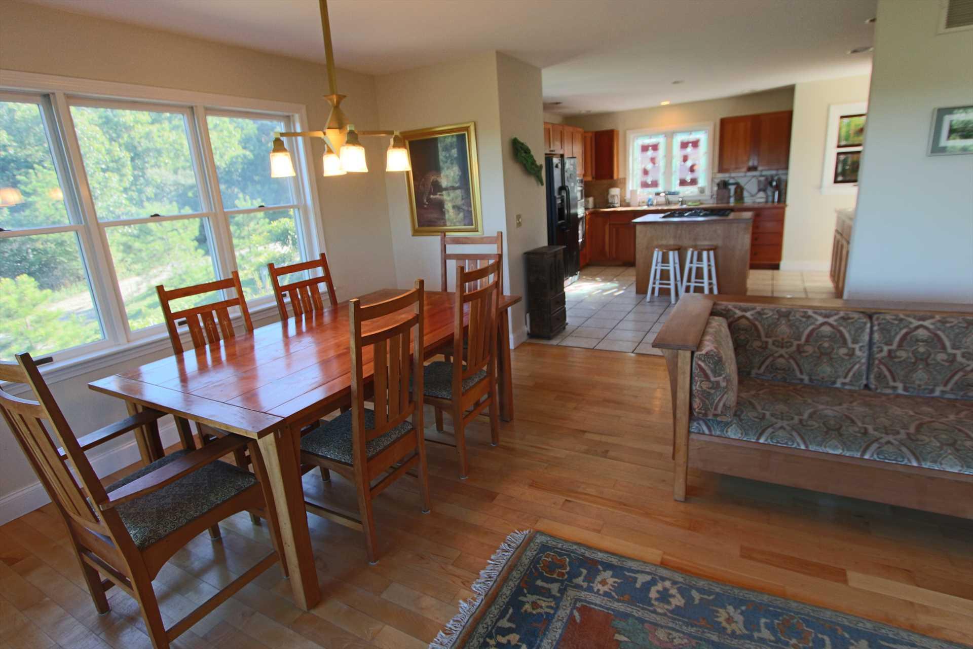Kitchen- Living Room- Dining Room