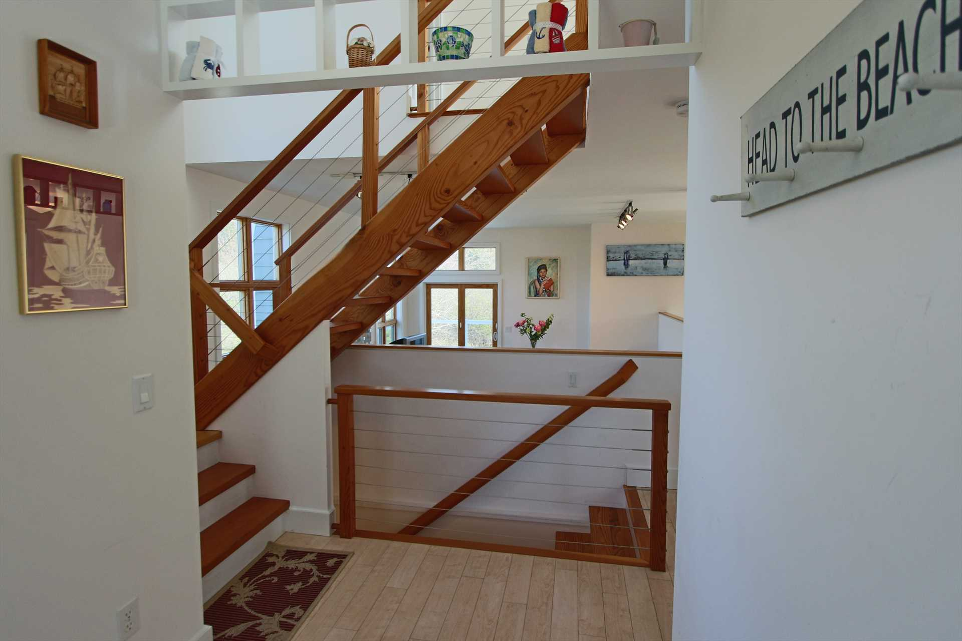 Foyer with stairs to 2nd Floor