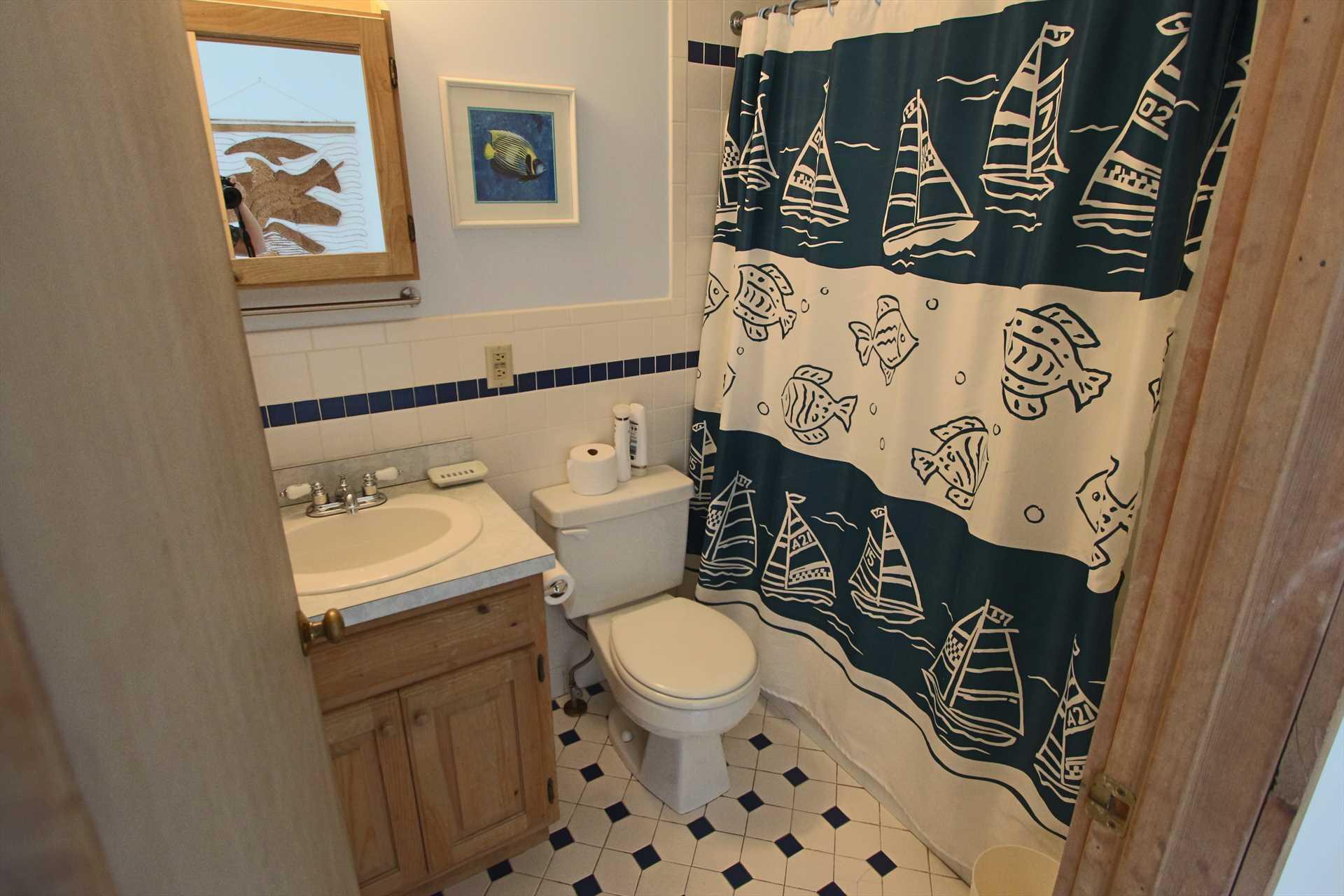 Bathroom #1 with Tub & Shower