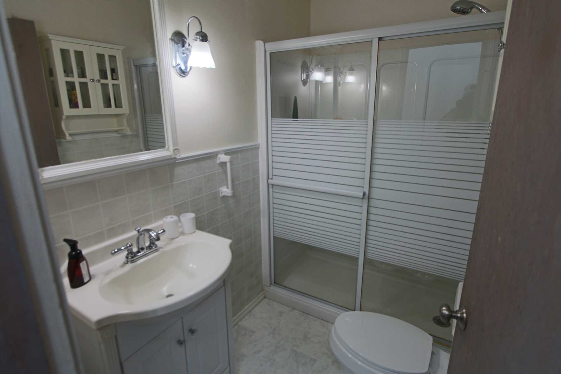 Bathroom #2 with Shower