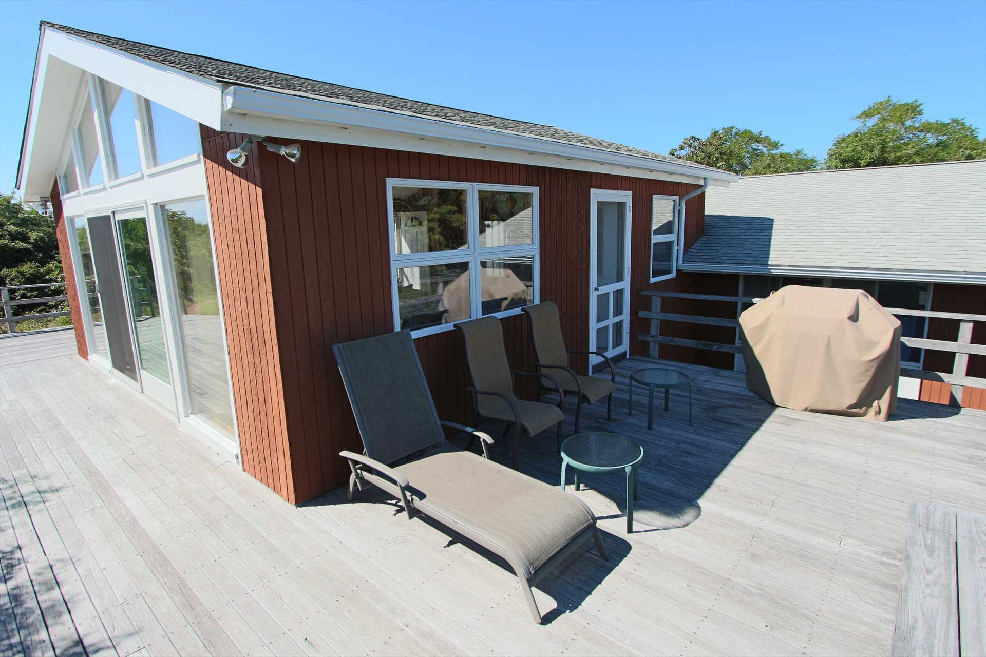 Outside Deck with Chairs