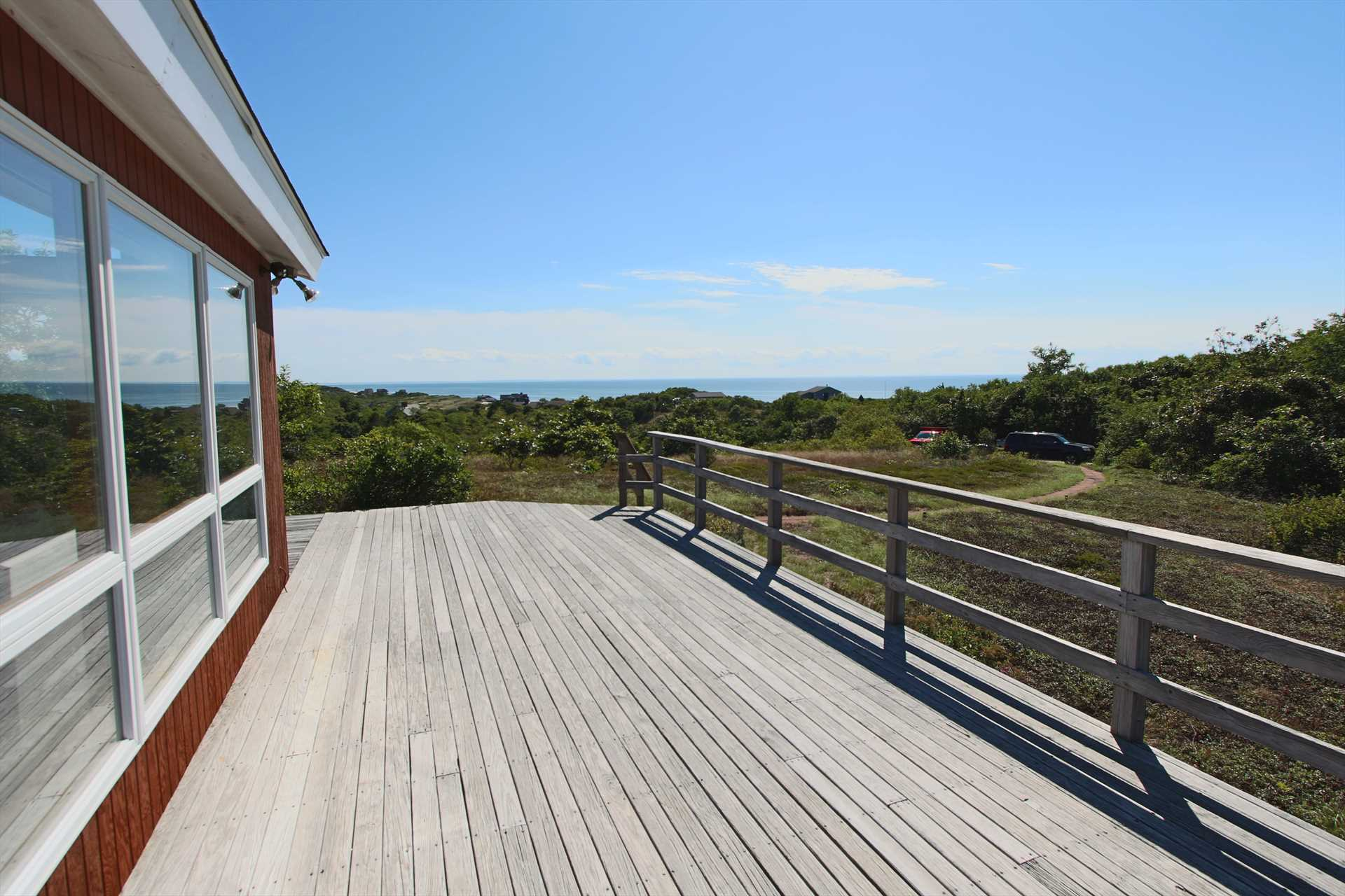 Water Views of Cape Cod Bay with Walk to Private Neighborhoo
